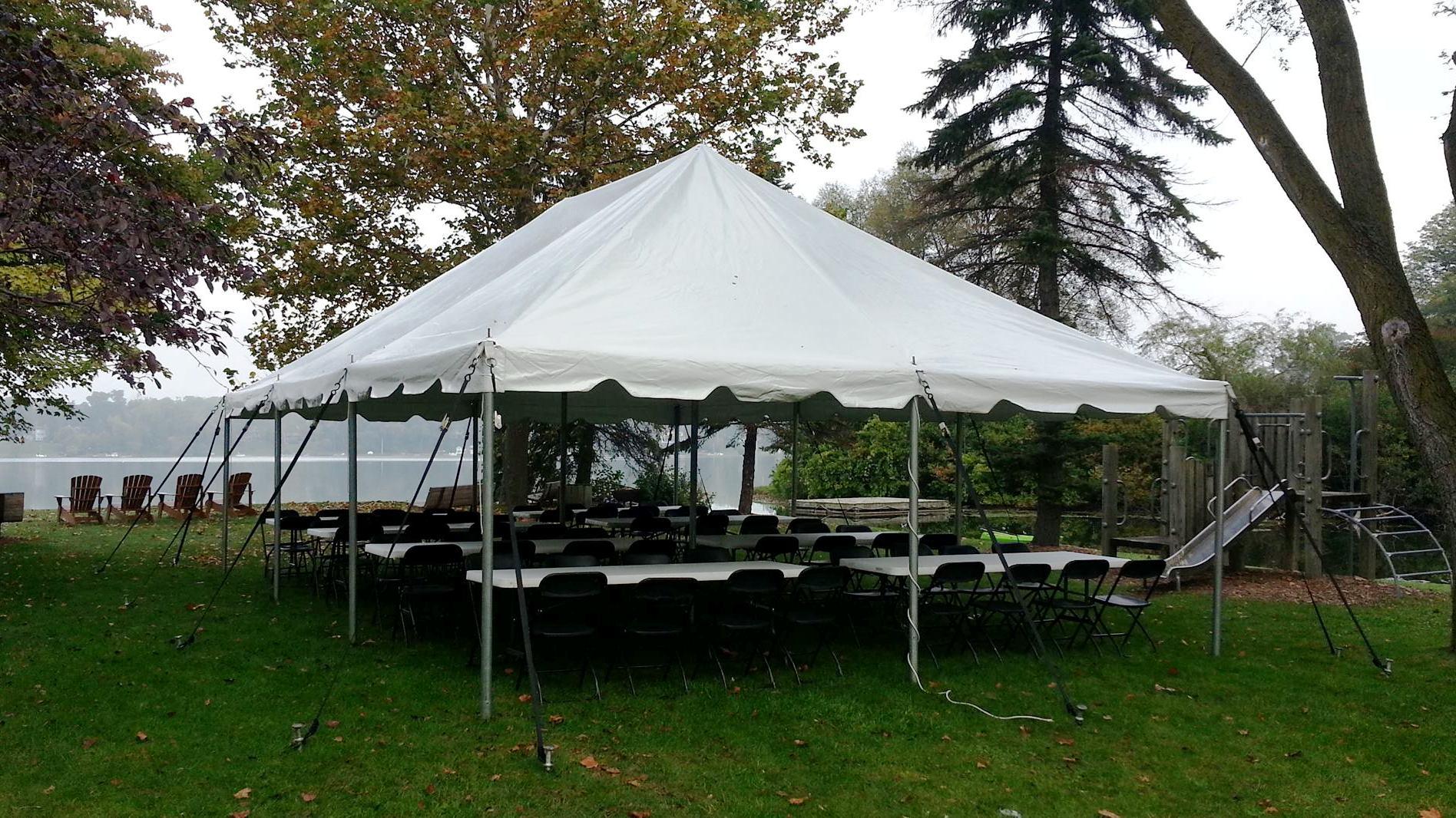 20x30 Pole Tent & Bob Bu0027s Party Rentals - Tents